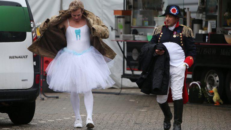 Тайни снимки от епизод по случай карнавала в Кьолн